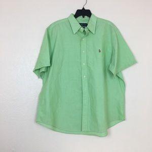 Polo Ralph Lauren button down short sleeve shirt